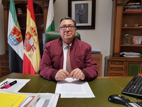 Rueda de prensa del Alcalde, José María ramírez