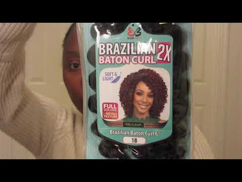 BRAZILIAN BATON CURL (BOBBI BOSS): CROCHET BRAIDS