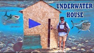 HOUSE UNDER THE WATER – DIY | UNDERWATER HOUSE