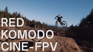 First RED Komodo Cine-FPV Flight MTB   4K