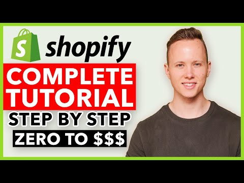 COMPLETE Shopify Tutorial For Beginners 2021 - How To Create A Profitable Shopify Store From Scratch Coupon