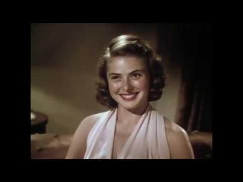 Ingrid Bergman - Sound Test for