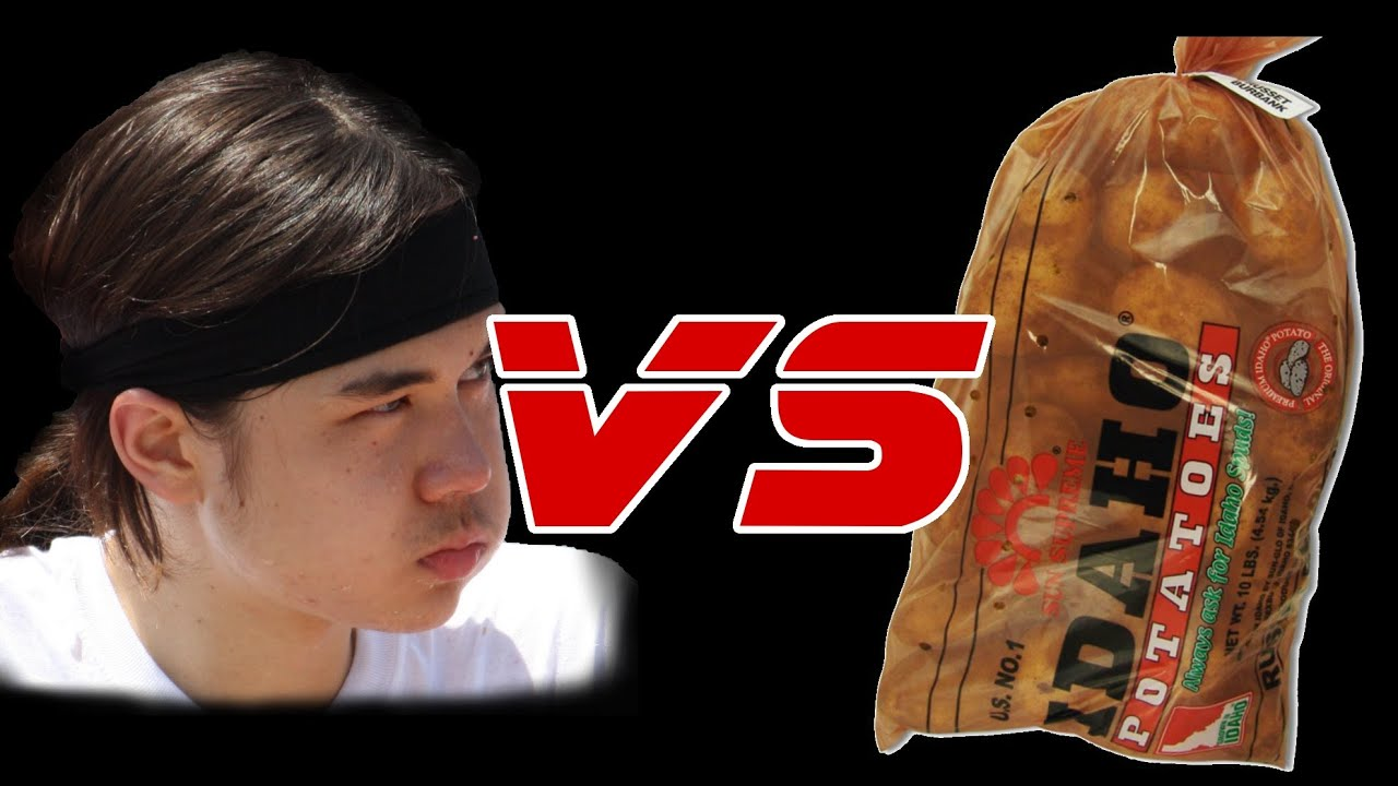 Matt Stonie vs 10lb Bag of Potatoes thumbnail