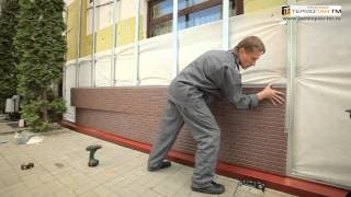Фасадные панели Термопан видео