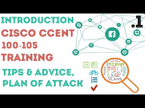 Cisco - CCENT/CCNA R&S (100-105) - Introduction. 01 - YouTube