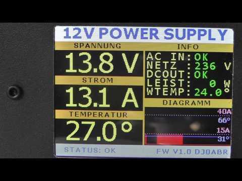 Ham Radio Power Supply 12V 50A, watercooled