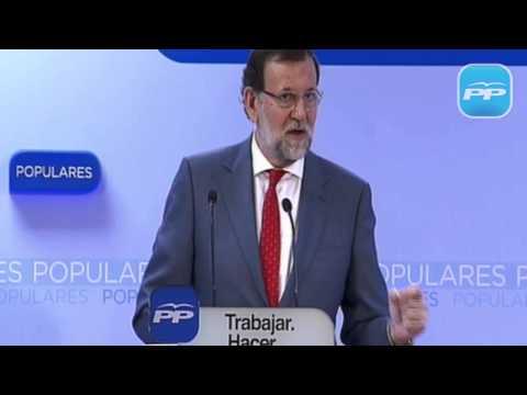 Rajoy: El objetivo de los gobiernos del PP es la atención a las personas