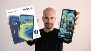 Nokia XR20 - Unboxing & Full Tour - Toughest Phone of 2021!
