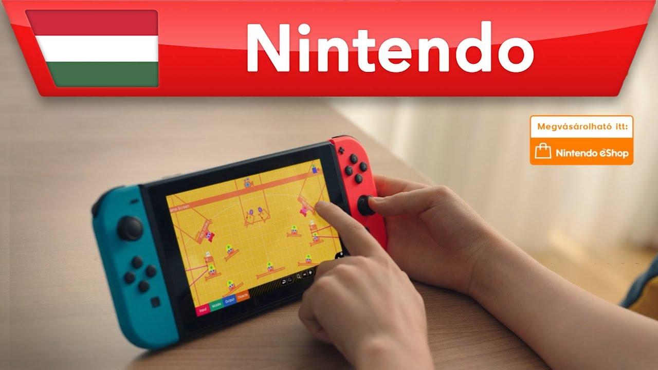 Game Builder Garage – Az első videójátékunk | Nintendo Switch