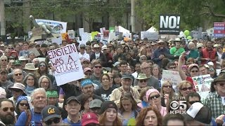 Thousands March For Science In San Francisco