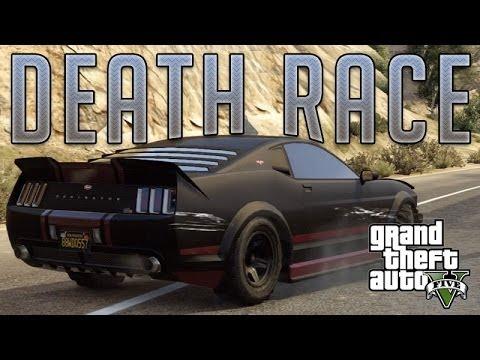 Death Race Mustang (Vapid Dominator) : GTA V Custom Car
