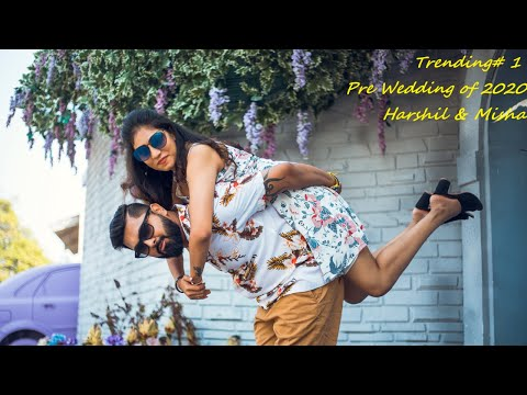 Pre wedding shoot 2020 || Harshil & Misha || Pixocity Surat || Love Mashup