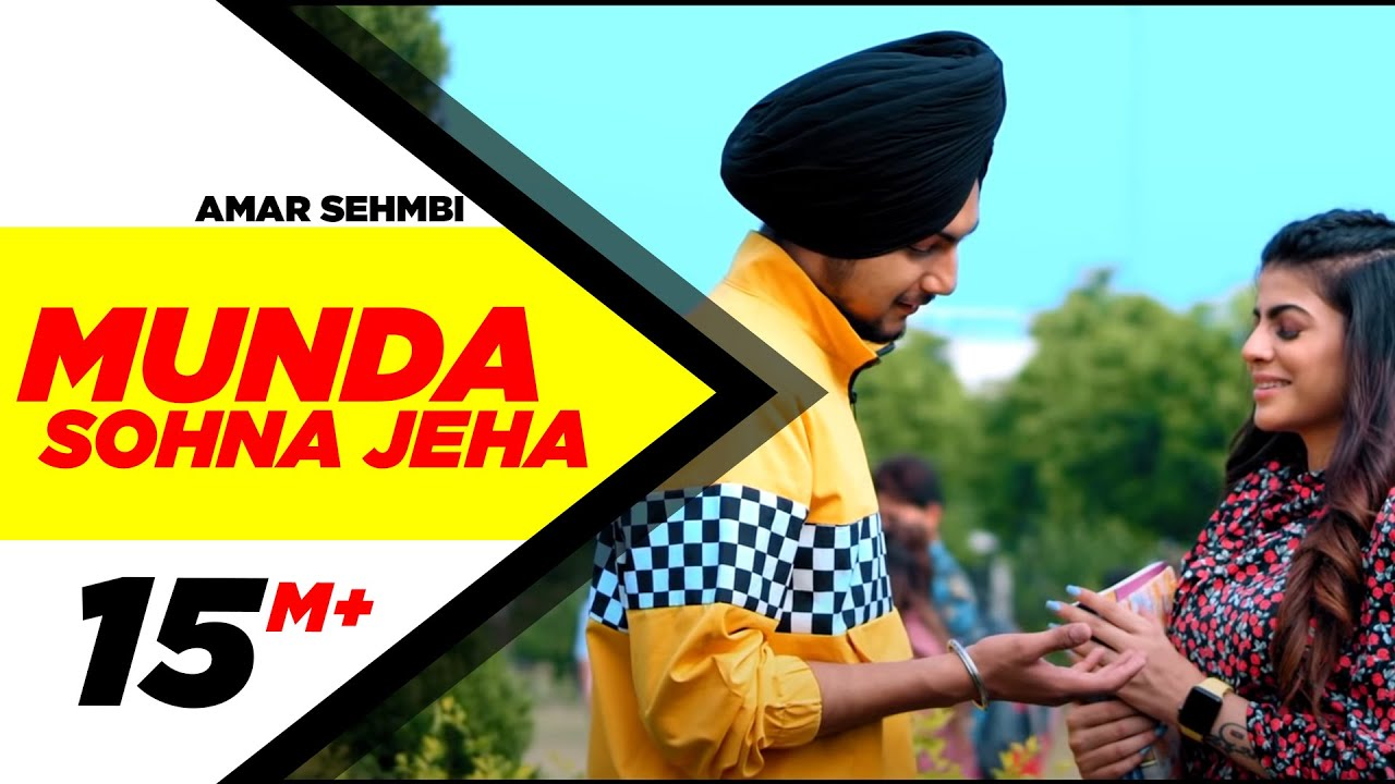 Munda Sohna Jeha Lyrics in English - Amar Sehmbi | Desi Crew | Simar Doraha