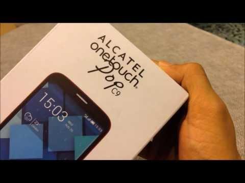 เปิดกล่อง Alcatel OneTouch Pop C9
