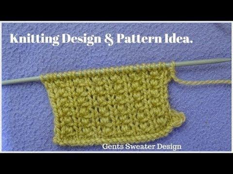 131 Knitting Pattern For Gents Sweater Hindi Knitting Tutor
