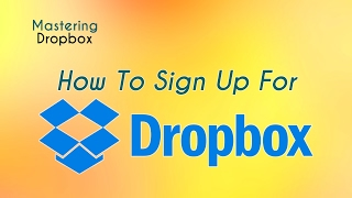 How to Sign Up For Dropbox