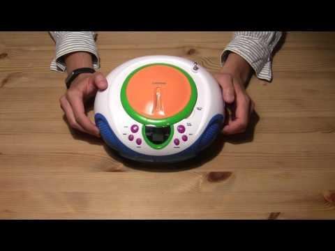 Kinder CD Player Test - Lenco SCD-40 Kids