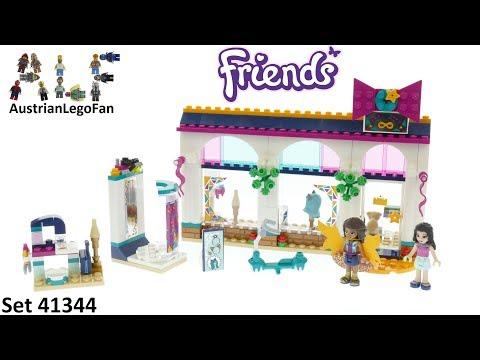 Vidéo LEGO Friends 41344 : La boutique d'accessoires d'Andréa