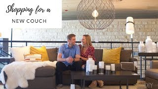 Our Adventure Shopping For A New Couch (with Extra Durable Fabric!)