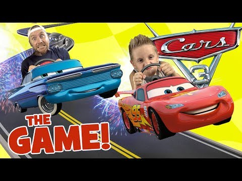 Let's Play CARS 3 Movie Game! Driven To Win Race & Stunt Gameplay