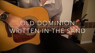 Written In The Sand  Old Dominion  Easy Guitar Lesson