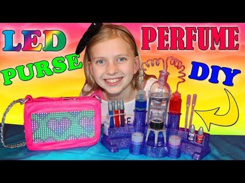 Light-Up Purse & DIY Perfume!! – Project MC2 Perfume Kit & Pixel Purse