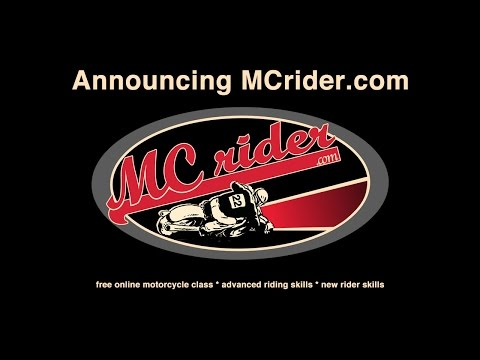 MCrider.com: Free online motorcycle classes - Episode 1 - YouTube