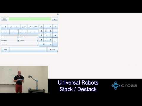 Destacking using Force sensor on UR5e — DoF