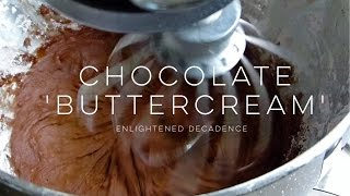 chocolate frosting recipe without milk or butter