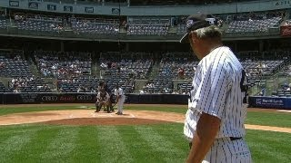 Rickey Comes Up With Walk-off In Old-Timers Game