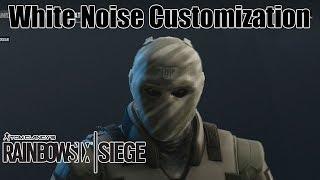 White Noise Operator Customization!- Rainbow Six Siege