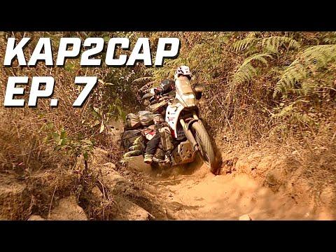 Cap Nord to Capetown ► 26.000 km en Ténéré 700 ►épisode 7