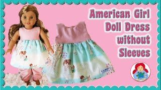 How To | Doll Dress For 18 Dolls (American Girl, Our Generation) • Sami Doll Tutorials