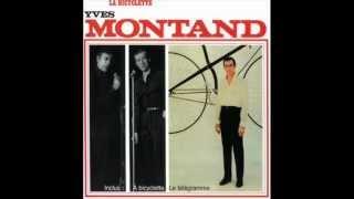 Yves Montand  La Bicyclette (sous-titré)
