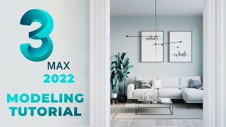3ds max 2022 Modeling Tutorial | Way Quicker Than Before!!