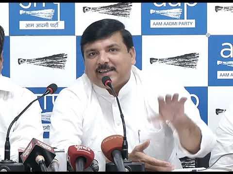 AAP RS Member Sanjay Singh Briefs on Rafale Scam
