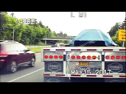 Trucker Receives $1,067 Ticket for Failure to Yield