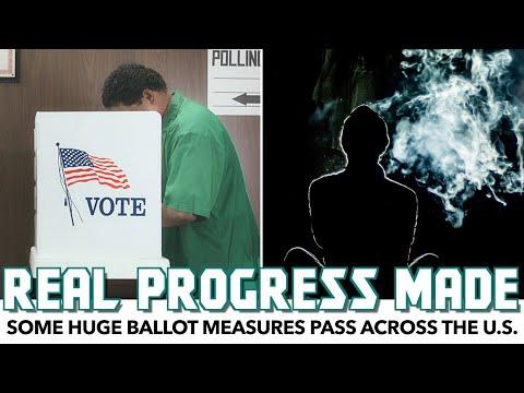 Some HUGE Ballot Measures Pass Across The U.S.