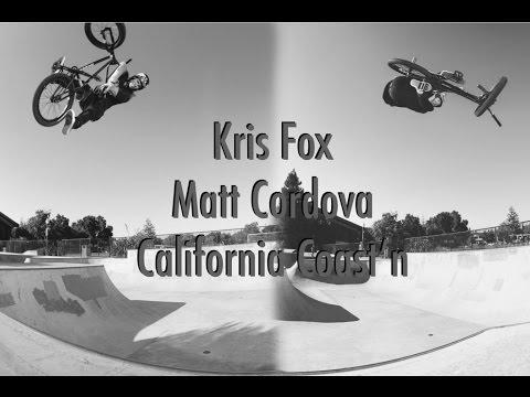 Kris Fox and Matt Cordova California Coast'n