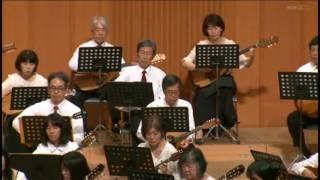 映画「みじかくも美しく燃え」より「ピアノ協奏曲第21番」2楽章W.A.Mozart奈良マンドリンギター合奏団