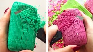 The Most Satisfying Soap Cutting Videos! Soap Crushing and Soap Carving ASMR Compilation 2019 8