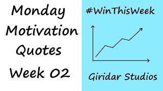 Top 10 Quotes | Monday Motivation Part - 2 | Transform Your Life | Giridar Studios
