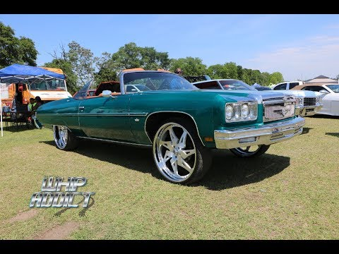 WhipAddict: Outrageous 75' Chevrolet Caprice Convertible