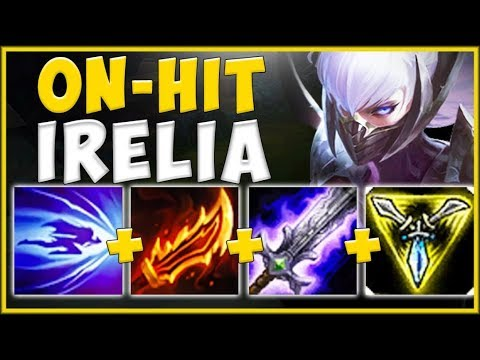 NO OUTPLAY POSSIBLE! ON-HIT IRELIA BUILD MAKES HER 100% BROKEN AGAIN! - League of Legends Gameplay