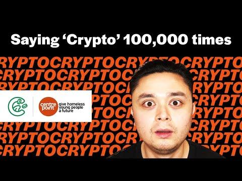 Saying 'Crypto' 100,000 times