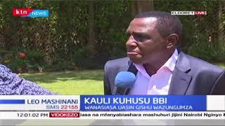 Kauli kuhusu BBI: Seneta Ole Kina ashutumiwa, Naibu wa Rais akinzana na mchakato huo