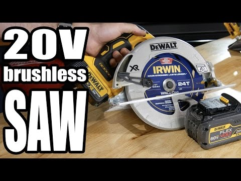 DeWalt DCS570 20V Max Circular Saw Review