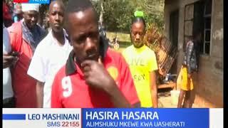 Mwanaume ajiteketeza moto pamoja na mkewe
