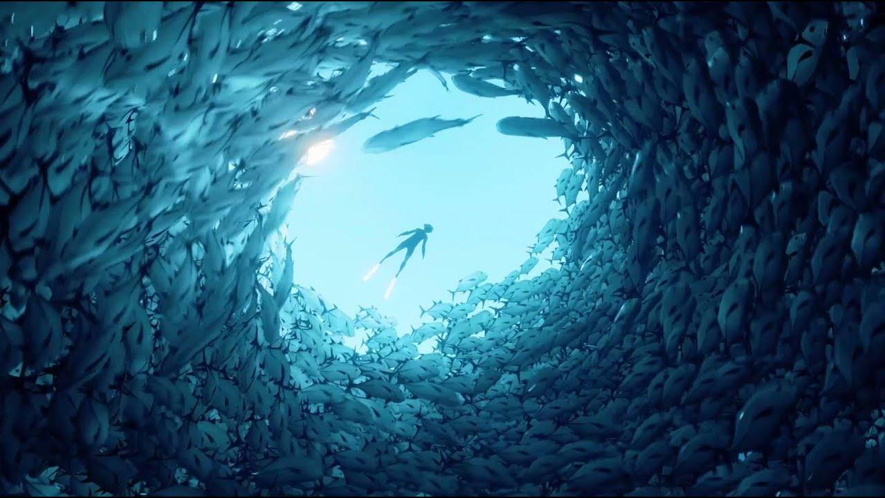 L'avventura sottomarina ABZÛ emerge oggi su PS4