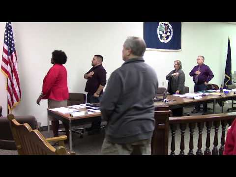 Monessen City Council Meeting 11/21/2018